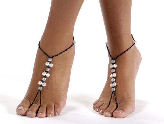 Pics For > Barefoot Sandals