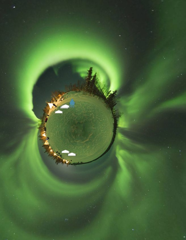 Yellow Knief Aurora,Canada, by Seungsang Yoo(유승상) https://www.360cities.net/image/yellow-knief-aurora006