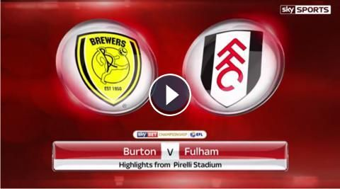 HD Video Highlights: Burton Albion 0-2 Fulham FC- Sky Bet Championship - 1 February 2017. Watch video highlights of EFL Championship match : Burton Al...