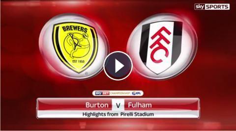 HD Video Highlights: Burton Albion 0-2 Fulham FC- Sky Bet Championship - 1 February 2017. Watch video highlights of EFL Championship match : Burton Al...