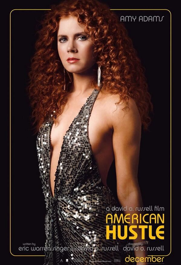 """American Hustle --""""...we've gotta get over on all these guys, that's what you should be thinking...we've gotta get over on all these guys..."""""""