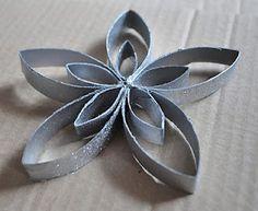 toilet paper roll flower
