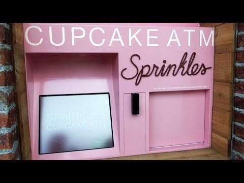 MouseSteps - Sprinkles Cupcake ATM at Disney Springs: Review with Photos & Video at New Walt Disney World Location