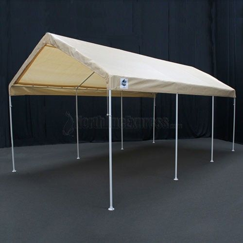 The King Canopy X Tan Universal Offers Quick And Easy Shade Transportation Set Up No Tools Required This Unit Features A 1 Powder Coated