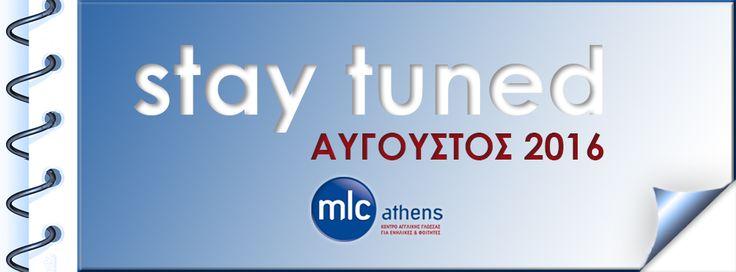 Μόνο Αγγλικά! Μόνο για ενήλικες! Μείνετε συντονισμένοι... θα βγείτε κερδισμένοι! 😉💡🌊 #stay_tuned #coming_soon #august_2016 #think_english 2103643039 www.mlcathens.gr  English only for adults — at MLC Athens - Think English.