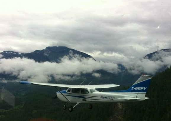 Up close and personal with GOPV - Cessna 172. Come fly with us!