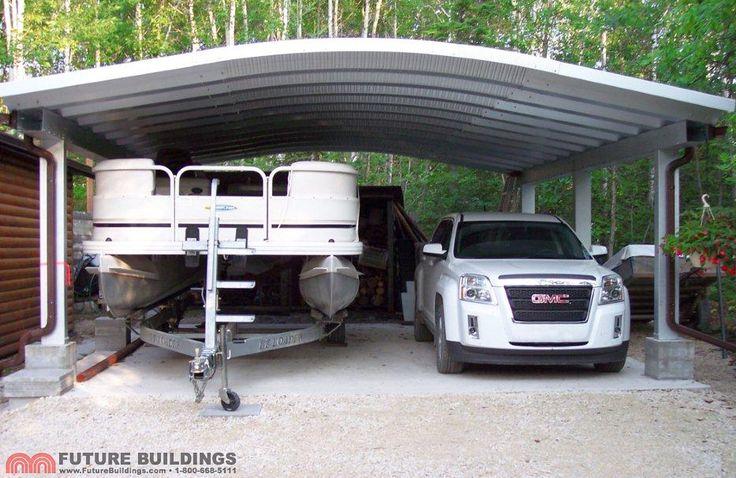 31 best images about carport on pinterest steel for Rv garage kits