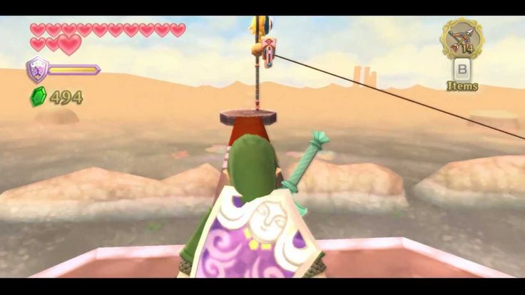 The legend of Zelda Skyward Sword Walkthrought part 63. 1080p.