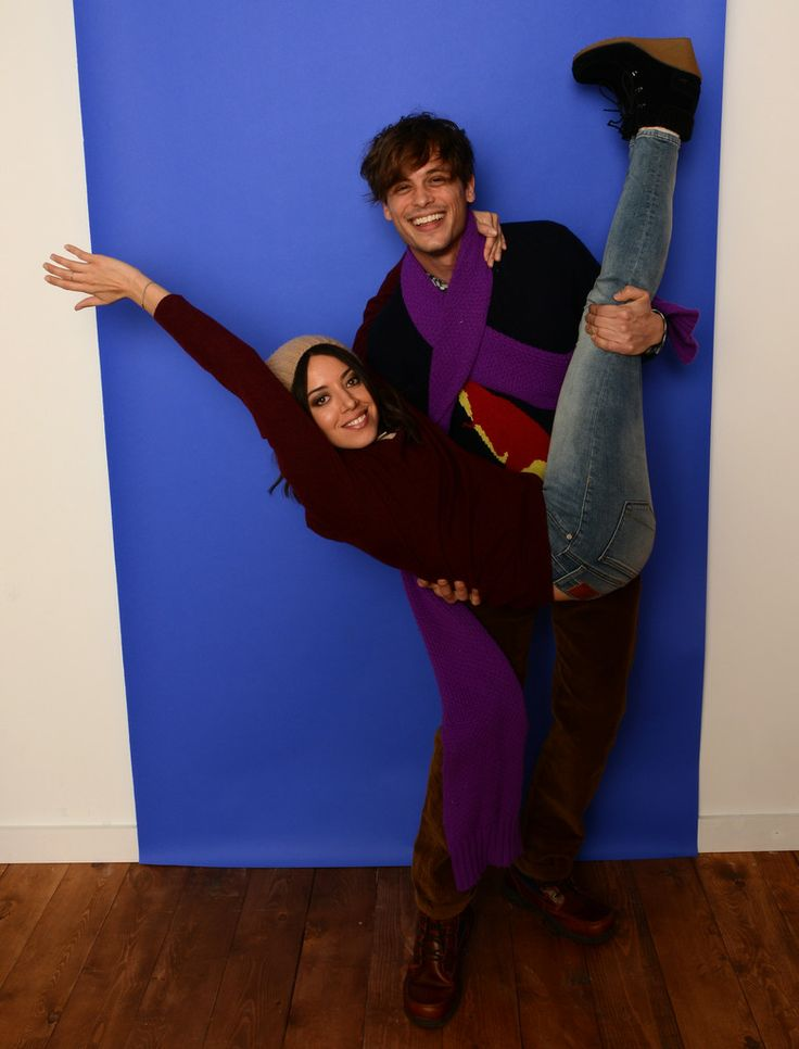 Aubrey Plaza & Matthew Gray Gubler (Album, In Comments)