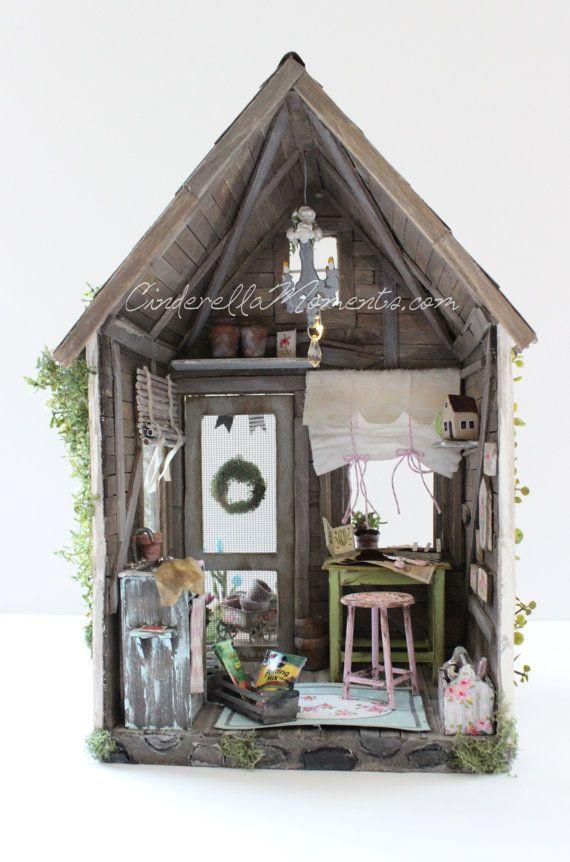 Petite Maison de Jardin Custom Furnished por cinderellamoments