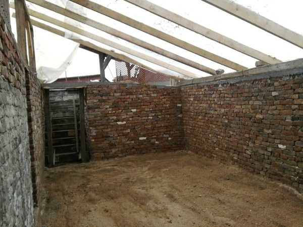 under ground green house- would love this but where to put it? South side of machine shed???