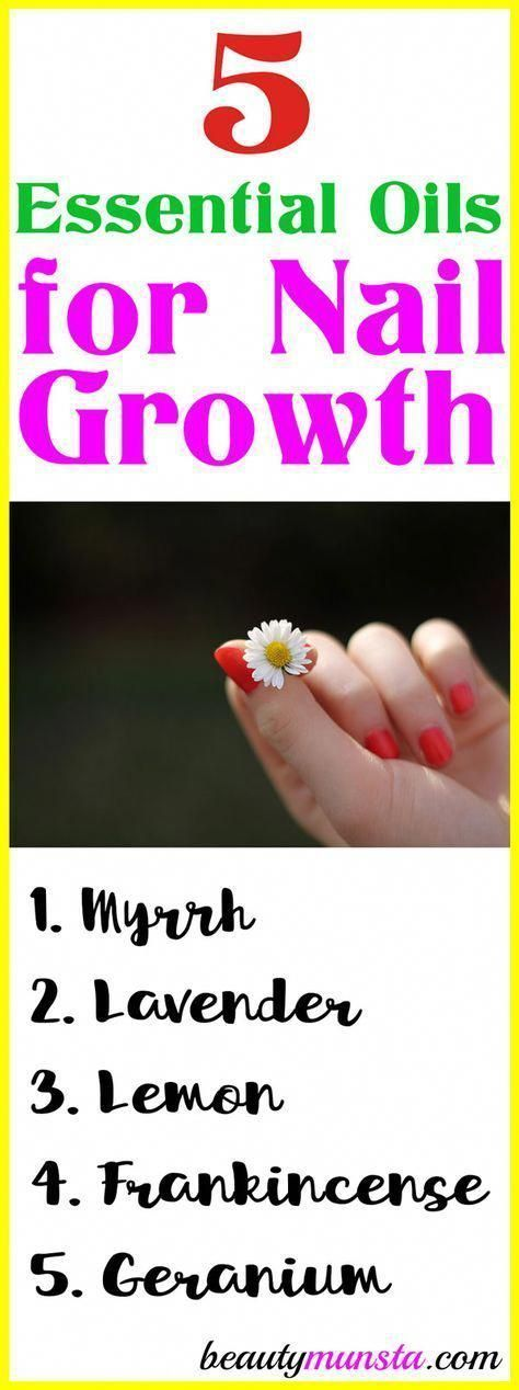 Take a look at the 5 essential oils for nail growth, … #atheri …   – Nagelpf…
