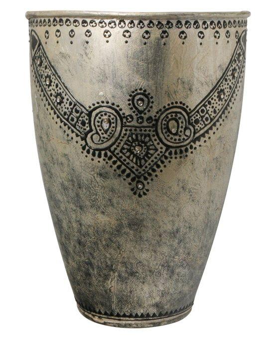Indian Home Decor | Metal Vase | Decorative Vase