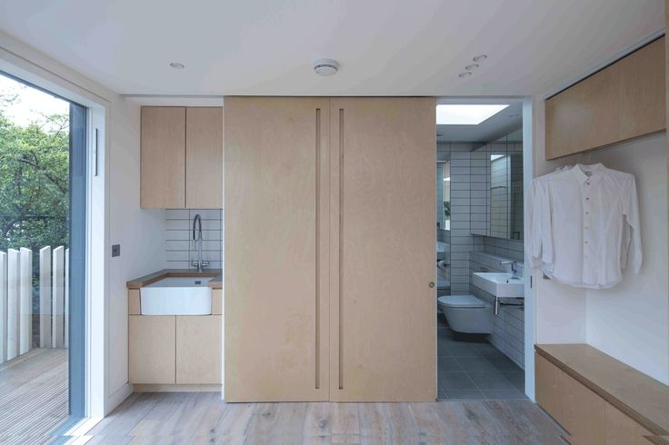 Silver & Co transforms London garden shed into multifunctional studio for artist couple