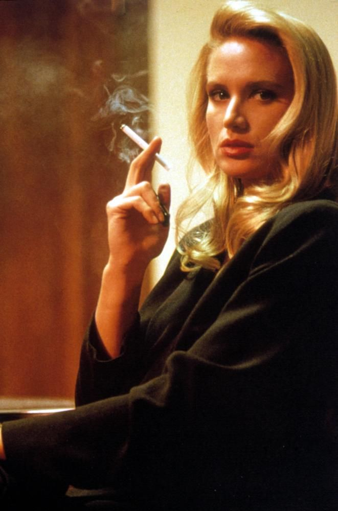 """Kelly Lynch in """"Desperate Hours"""" (1990). DIRECTOR: Michael Cimino."""