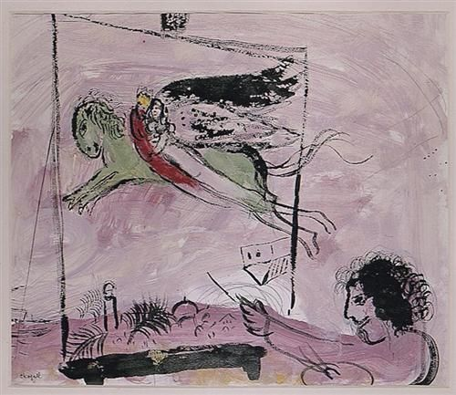 Song of Songs IV - Marc Chagall 1958