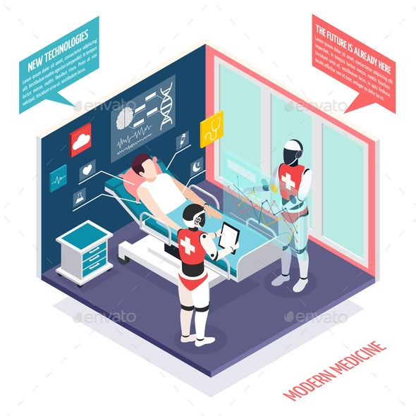 Medical Technologies Isometric Composition Medical Technology Medical Health Technology