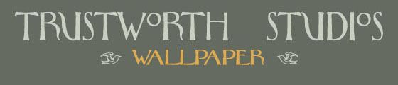 Trustworth Wallpaper - gorgeous wallpaper patterns from the turn of the century!