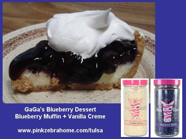 "Pink Zebra Sprinkles are a fun and exciting new home fragrance product that allows you to create your very own fragrance recipes.  Check out my ""Blueberry Dessert"" recipe which combines Blueberry Muffin Sprinkles with Vanilla Creme Sprinkles.  It smells SO WONDERFUL!"