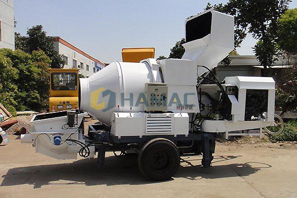 Mezcladora de bomba de arrastre - JBT Mezcladoras y Bombas de Concreto, Bombas Mezcladoras, Bomba de Hormigón Eléctrica, Mezcladoras de Camiones Bombas de Concreto - Hamac Machinery