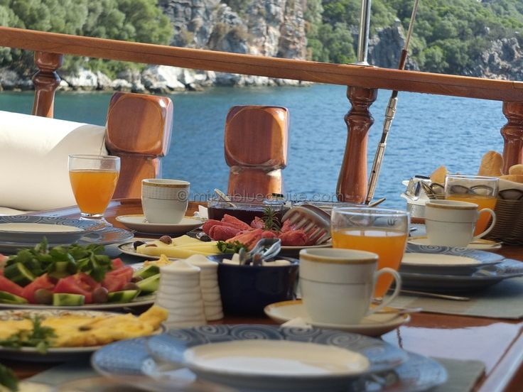 What Type of Meals are Prepared on #Gulet #Holidays? read more: