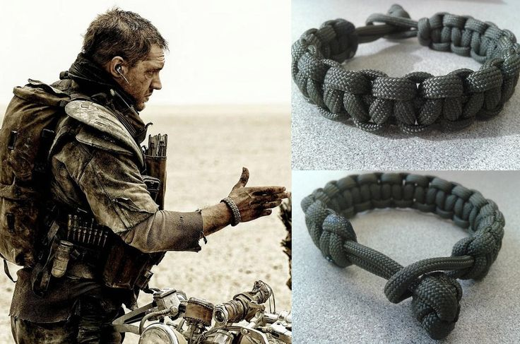 Mad Max Fury Road Paracord Survival Bracelet in Army Green by DizzleDesigns on Etsy