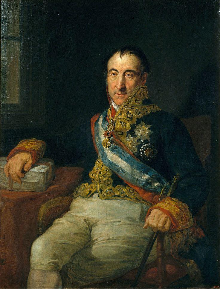Pedro Gómez Labrador, marqués de Labrador.Spanish Ambassador to the Congress of Vienna of 1915.Ca. 1833-34.Vicente López y Portaña (1772-1850) Museu Nacional d'Art de Catalunya