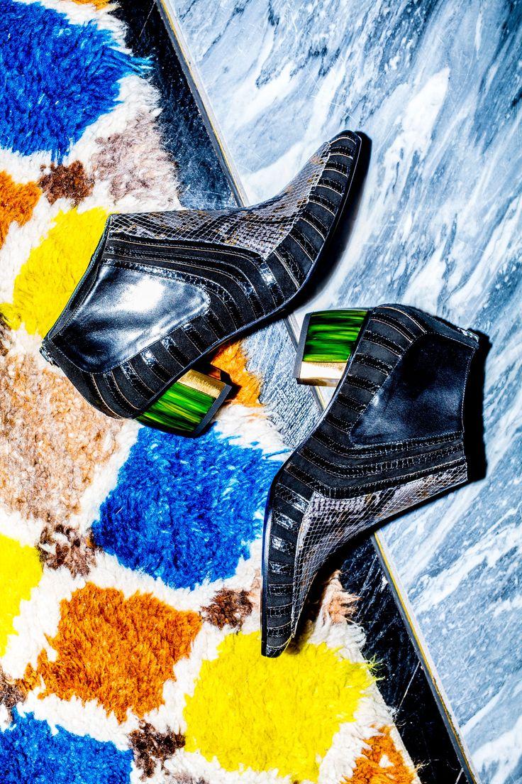 Holly Golightly Copenhagen - SS16 Campaign / Photo: Trine Hisdal / Styling: Julie Svendal / Instructors: Tone Reumert & Julie Svendal / Make-up: Pernille Holm / Model: Nina Marker - Elite Models / RODARTE