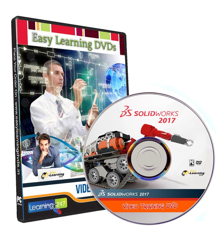 SOLIDWORKS 2017 And SOLIDWORKS Visualize Video Training Tutorial DVD