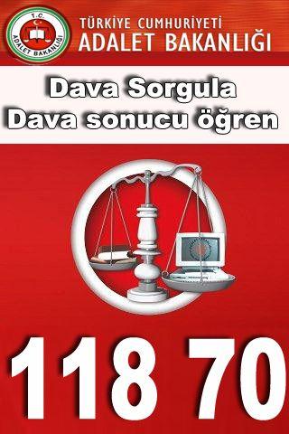 11870 adliye dosya sorgulama servisini arayarak, adli dava dosyanız olup olmadığını öğrenebilirsiniz.