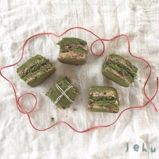 小豆スコーン・抹茶スコーンをれふの遊びレシピで作ります↟⌂*⍋