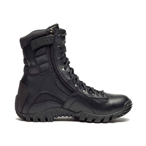 "Belleville Tactical Research 8"" Kyber Lightweight Hi Perf Tactical Boot Water Proof With Zip Black"