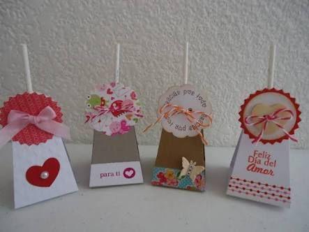 Resultado de imagen para cajas de carton decoradas para san valentin