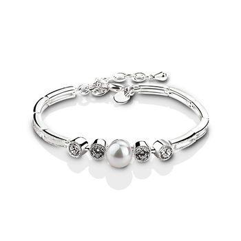 VGK446 Grace Kelly Bracelet - from Newbridge Silverware online store Ireland $55
