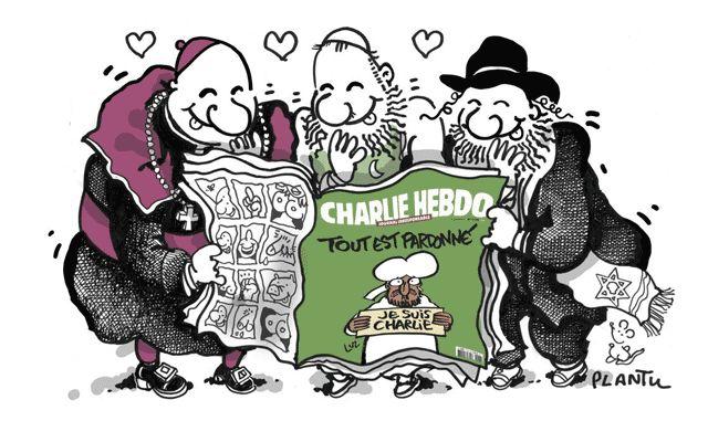 plantu-charlie....reépinglé par Maurie Daboux ❥•*`*•❥