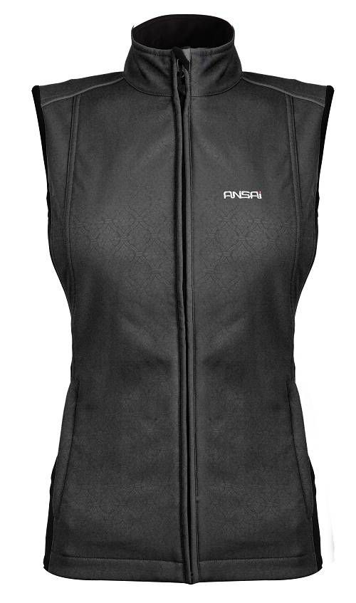 Ansai Mobile Warming Women's Jackii Vest - everyone needs heated motorcycle gear! Love mine!