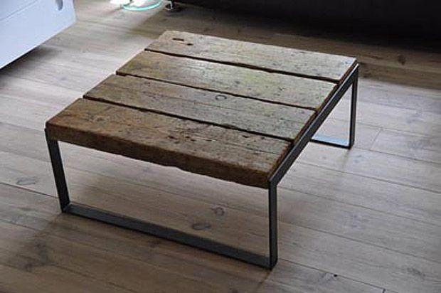 M s de 1000 ideas sobre madera reciclada en pinterest - Mesas de estudio de diseno ...