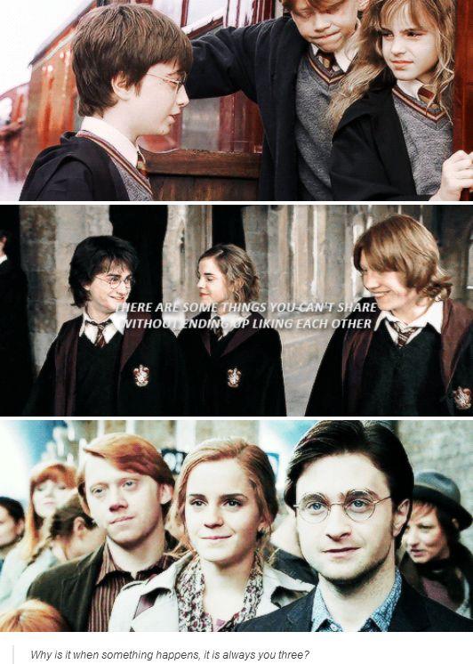 Golden Trio Harry Potter Harry Potter Universal Harry Potter Love Harry Potter Obsession