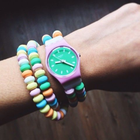 Swatch Caramellissima Watch | Spotted on @Betty Autier from store.swatch.com $60.00 via KEEP