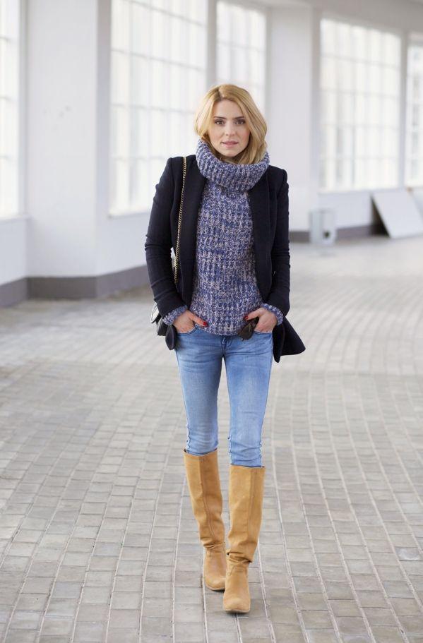 wool jacket / wełniana marynarka - Massimo Dutti (podobna tutaj) jeans / dżinsy - Mango model Uptown (podobne tutaj) sweater / sweter - Stefanel (poodbny tutaj i tutaj) shoes / buty - Loft 37(podobne tutaj) bag / torebka - old (podobne tutaj i tutaj)  It seems that the spring will arrive to Tricity any day now. The mornings are still cold, but hopefully I am done with the down jackets for this season. I am pleased to pick some casual sets using my favorite woolen jacket and jeans. My…