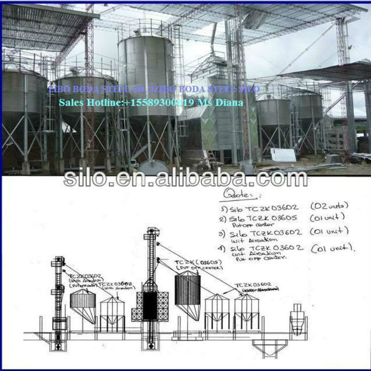 10000t galvanized grain storage tank silo with flat bottom#used grain silos for sale#silo