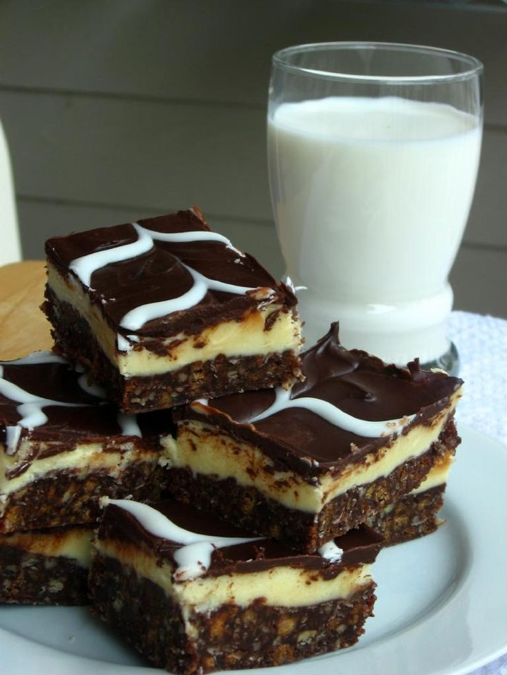 Nanaimo Bars: There is just NOTHING like a Nanaimo Bar. If you've never made them, you need to ASAP. They're insane.