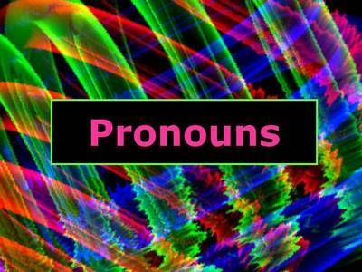 ELA PRONOUNS Subject / Object, Possessive, and Reflexive PowerPoint PPT from deannedavis on TeachersNotebook.com -  (19 pages)  - PowerPoint presentation to introduce subject, object, possessive, and reflexive pronouns.
