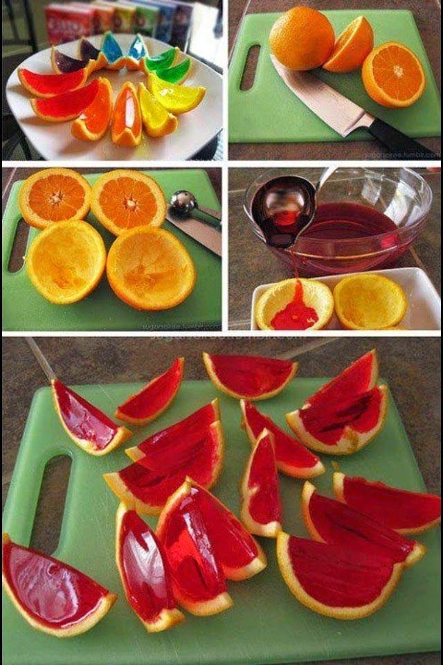 Gelatinas por la RED, 5 coloridas formas de endulzarse casi sin calorías!!!   Cocinar en casa es facilisimo.com