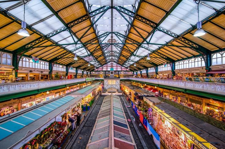 Cardiff Market, Wales