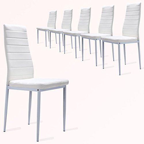 1000 ideas sobre sillas de comedor blancas en pinterest for Sillas cocina blancas