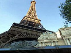THE EIFFEL TOWER EXPERIENCE From the rivets in its beams to its glass elevators, the Eiffel Tower replica at Paris Las Vegas encompasses the same je ne sais quoi as the original. Visitors can catch great views nearly 50 stories above the ground. From the observation deck, which stands at 460 feet, guests are able to see the entire Las Vegas valley. Great Place to Propose  Click Pic For More Info and Tickets