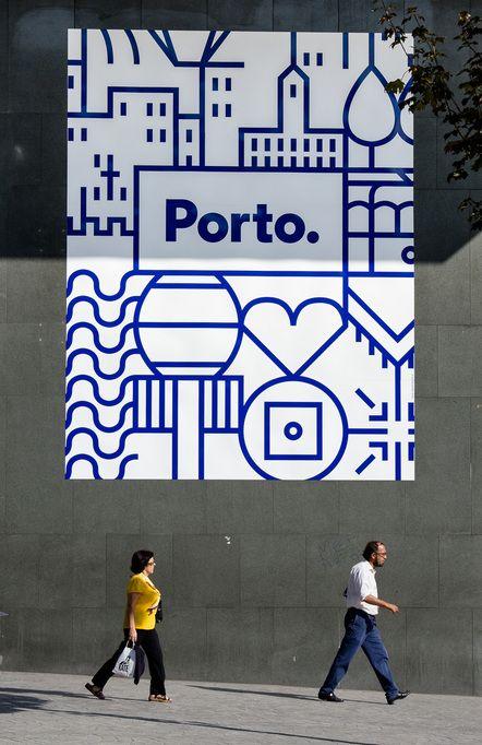 Die Stadt Porto hat eine neue Corporate Identity – entwickelt von white studio Portugal.