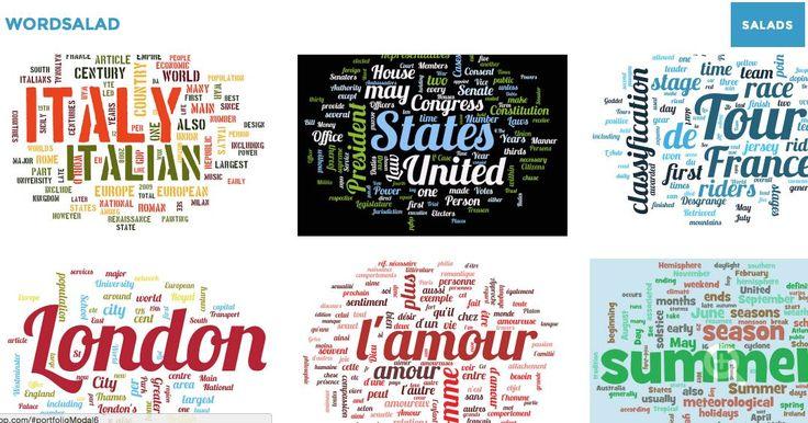 Les nuages de mots : trois outils en ligne qui permettent de créer facilement en quelques secondes des nuages d...