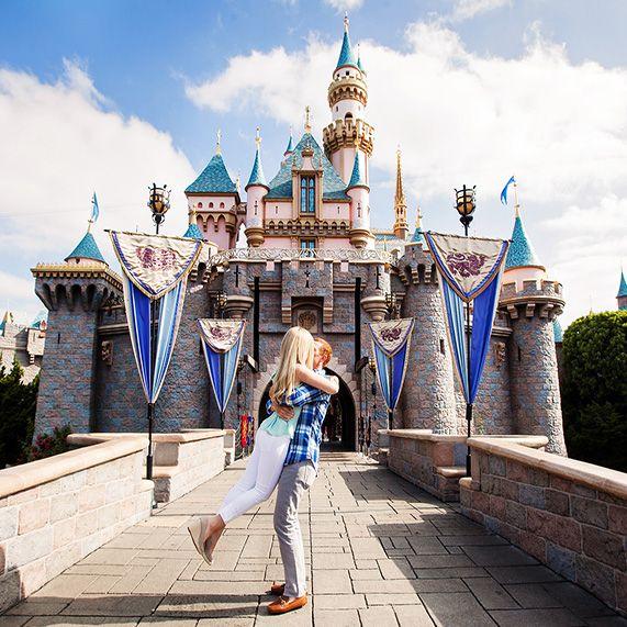 Disneyland Engagement Spotlight: Michelle & KevinEver After Blog | Disney Fairy Tale Weddings and Honeymoon
